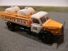 1/87 Brekina Henschel HS 140 Becker Bier mit Tanks Sondermodell Reinhardt