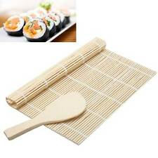 Tappetino+paletta in bambù per arrotolare riso SUSHI makisu attrezzatura cucina