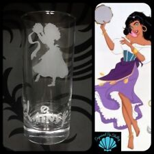 Personalised With Any Name Disney Princess Esmeralda Glass Birthday Gift For Her