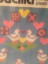 NIP Bucilla Pre-cut Plastic Canvas Baby Ducks Mobile Cross Stitch Crewel Kit