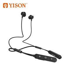 Wireless Bluetooth Headphones Running Sports Earphone Super Bass Black E3
