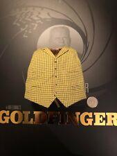 GRANDE CAPO Studios James Bond Aurico GOLDFINGER Giallo Gilet Loose SCALA 1/6th