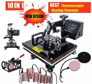 Advanced New Design 10 In 1 Combo Heat Press Machine - Limited Quantity