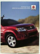 2006 Suzuki Full Line Press Kit - Grand Vitara XL-7 Verona Forenza Reno Aerio