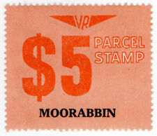 (I.B) Australia - Victoria Railways : Parcel Stamp $5 (Moorabbin)