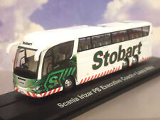 "Atlas / Oxford 1/76 Eddie Stobart Scania Irizar Pb Executive Autocar"" Laura Abby"