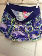 Betsey Johnson terry floral Shorts XS BN01 Z size large