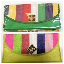 Korean Traditional Crafts Quilt Fabric Wallets Selected Colors 20 pcs +Gift