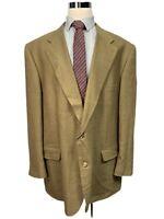 CM Gold Men's Big & Tall Wool Blend Sport Coat Blazer 54L