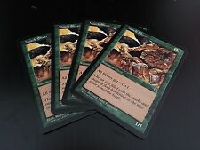 MTG MAGIC TEMPEST MUSCLE SLIVER (ENGLISH SLIVOIDE MUSCLE) NM X4