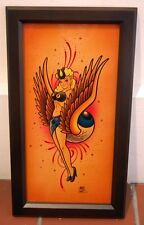 Makoto Original Painting hot rod lowbrow art roth weesner kustom kulture Japan