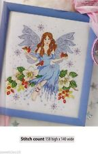 WINTER FAIRY    -     CROSS STITCH PATTERN    A5L1S