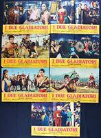 Fotobusta I Zwei Gladiatoren Harrison Orfei Gem Caiano Richard Moira Giulia R196