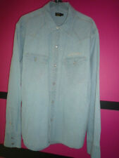 Chemise homme Pepe Jeans Taille XL jeans clair