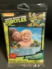 New Teenage Mutant Ninja Turtles TMNt Inflatable Arm Floaties Floats