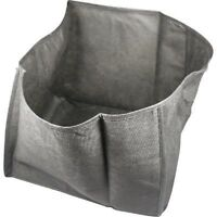 "Flexible Fabric Koi Pond or Water Garden Planter Basket 12"" Square x 3 Pack"