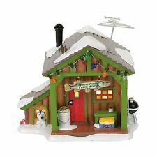 Dept 56 Home Away from Home Fish Shack Lit House Building NEW 4056685 2017 D56
