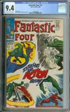 FANTASTIC FOUR #71 CGC 9.4 OW/WH PAGES