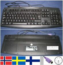 Clavier Qwerty NORDIC/NORDIQUE PACKARD BELL SK-1688 KB.PS20B.068 port PS/2