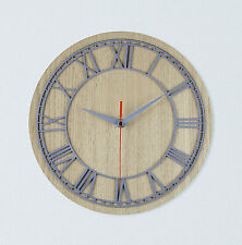 Non Ticking Silent Sweep Wall Clocks Ebay