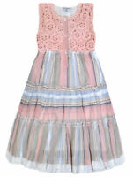 Girls Dress Kids New Summer Party Holiday Dresses Ages 2 3 4 5 6 7 8 9 10 Years