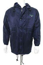 Polo Sport Ralph Lauren Vtg Men's S Small Navy Jacket Windbreaker Zip Hood EUC