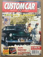 Custom Car Magazine - March 1995 - '57 Chevy Crossed With Harley, UK Drag Races