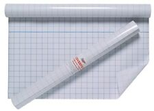 2 x rouleau 50 cm x 10 m CLEAR SELF film adhésif collant Exercise Book Cover Protect