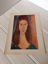 Amedeo Modigliani Portrait of Jeanne Edouard Pignon Olive Groves Print 20746