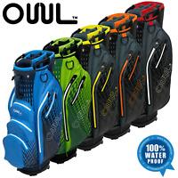 OUUL AQUA 14 WAY DIVIDER 100% WATERPROOF GOLF CART TROLLEY BAG / NEW 2020 MODEL