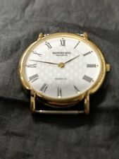 RAYMOND WEIL GENEVE 18KT GOLD PLATED GENTS