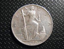 MONETA REGNO D'ITALIA VITT. EMAN. III 10 LIRE 1936 A.XIV IMPERO