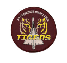 INDIAN AIRFORCE 1 SQN MIRAGE 2000 TIGERS PATCH