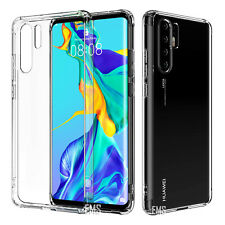 For Huawei P30 P20 Pro Lite Mate 20 Pro Clear Case Shockproof Heavy Duty Cover