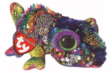 TY FLIPPABLES BEANIE BABIES BOOS KARMA CHAMELEON PLUSH SOFT TOY NEW WITH TAGS