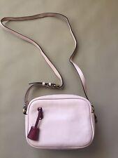 New JCrew Signet Bag in Italian Leather Pink $128 F5231 Camera Crossbody