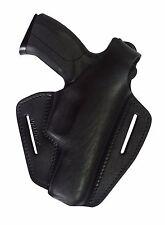 B2 Leder Pistolenholster Gürtelholster Holster für Grand Power K100 schwarz NEU