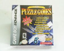 NEW Ultimate Puzzle Games for Game Boy Advance System Crossword Word Switch +++