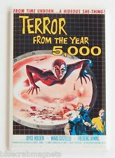 Terror From the Year 5000 Fridge Magnet (2.5 x 3.5 inches) movie poster