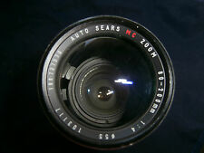 AUTO SEARS ZOOM 80-200MM 1:4 PHOTOGRAPHY FILM LENS #55