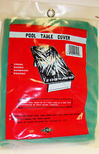 Geen Pool Billard Table Cover Leak Proof Fits up to 9' x 6'  NEW FREE SHIPPING