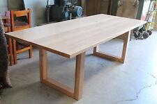 Factory direct solid tasmanian oak Mosman+ hardwood Timber dining table 8 Seater