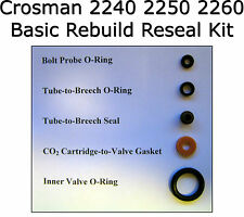 Crosman 2240 2250 2260 Basic Reseal Rebuild O-Ring Seal O-Ring Kit G397-012