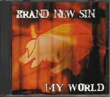 BRAND NEW SIN My World RARE RADIO PROMO DJ CD Single 2002