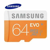 Samsung EVO PLUS 32GB 64GB Micro SD SDHC SDXC 80MB/s UHS-I Class10 TF Card