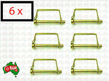"""6 x 8 mm 5/16"""" Square Linch Lynch Pin Scaffold Implement Tractor Mower Machinery"""
