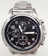 Fossil Dean Stainless Steel Bracelet Mens Watch FS4542 Light Scratches