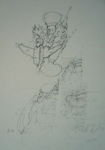 GIGER POLTERGEIST signed print from Biomechanics Ltd Book EA/300   Version #3