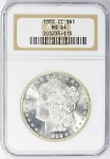 1882-CC Morgan Silver Dollar - NGC  MS-64 -  Certified Mint State 64