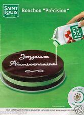 Publicité Advertising 2010 Le Sucre Saint Louis